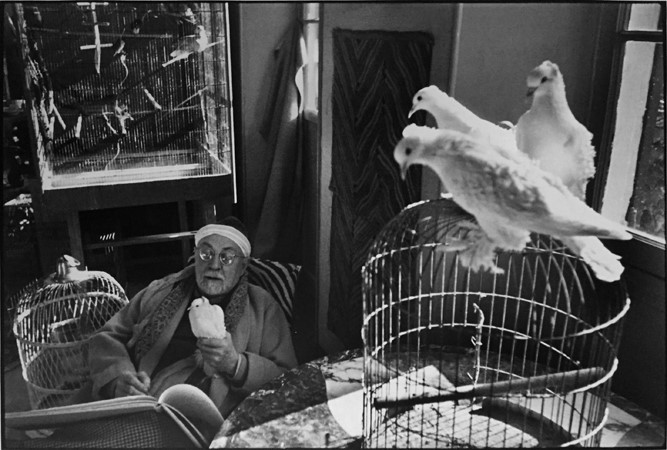 Matisse with Doves